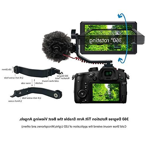 ANDYCINE HDMI Field DC Swivel Arm for DSLR and