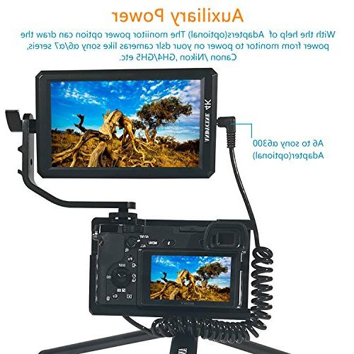 ANDYCINE A6 Inch HDMI Monitor DC Swivel Arm Sony,Nikon,Canon DSLR and Gimbals