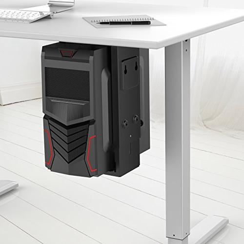 HumanCentric Adjustable Mount | Desk Wall | Fits Most PC Cases