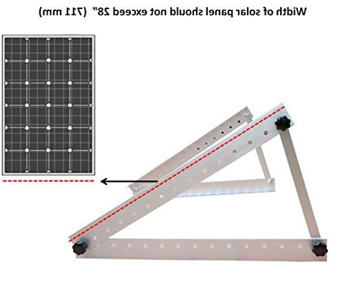 "Adjustable Solar Mount Large 28"" Arms - Off"