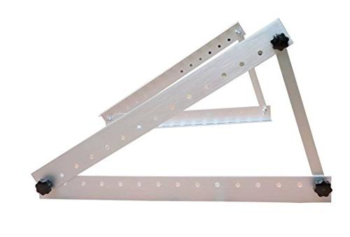 Adjustable Panel Mount Mounting Rack Bracket with Large Arms - Off Grid