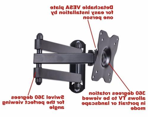 Articulating TV 15 20 27 Inch LCD Flat