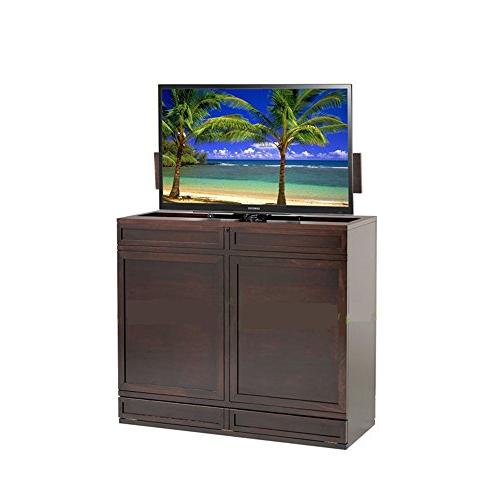Automatic 26-60 inch Lift TV Stand Mount with remote controll mounting 100KG/1000N
