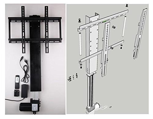 Automatic adjustable inch TV Lift TV Stand TV with controll and mounting 100KG/1000N )