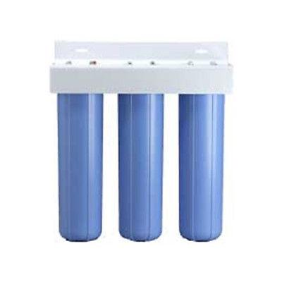 Pentek BBFS-222 Three Big Blue 20 Inch Housing Filter System
