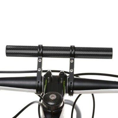 Bicycle Extended Bracket Lamp Mount Carbon Support