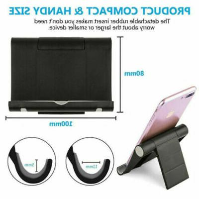 Cell Holder Mount Bracket Cradle Foldable All Tablet