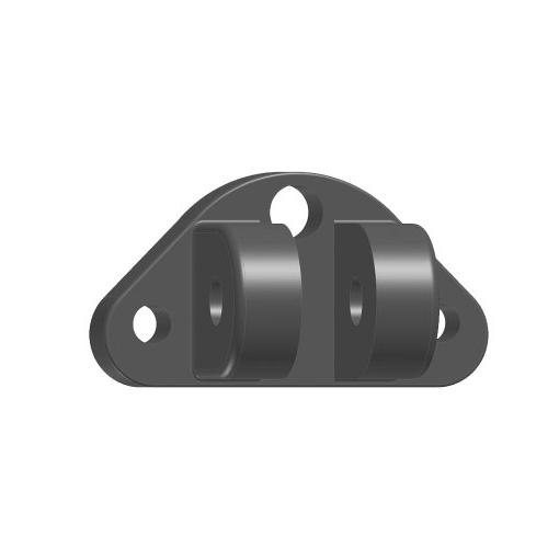 compact upper mounting bracket