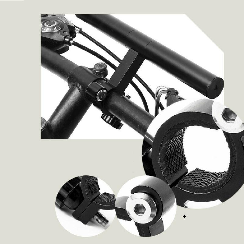 Cycling Bicycle Lamp Extension Extender
