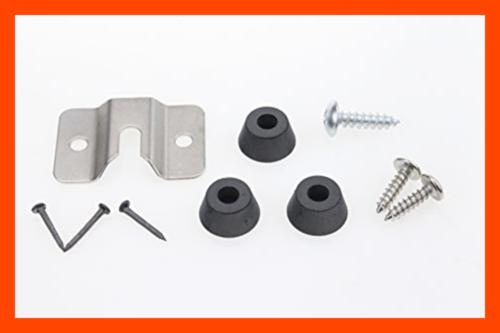 Dartboard Mounting Bracket Hardware Kit By FREE