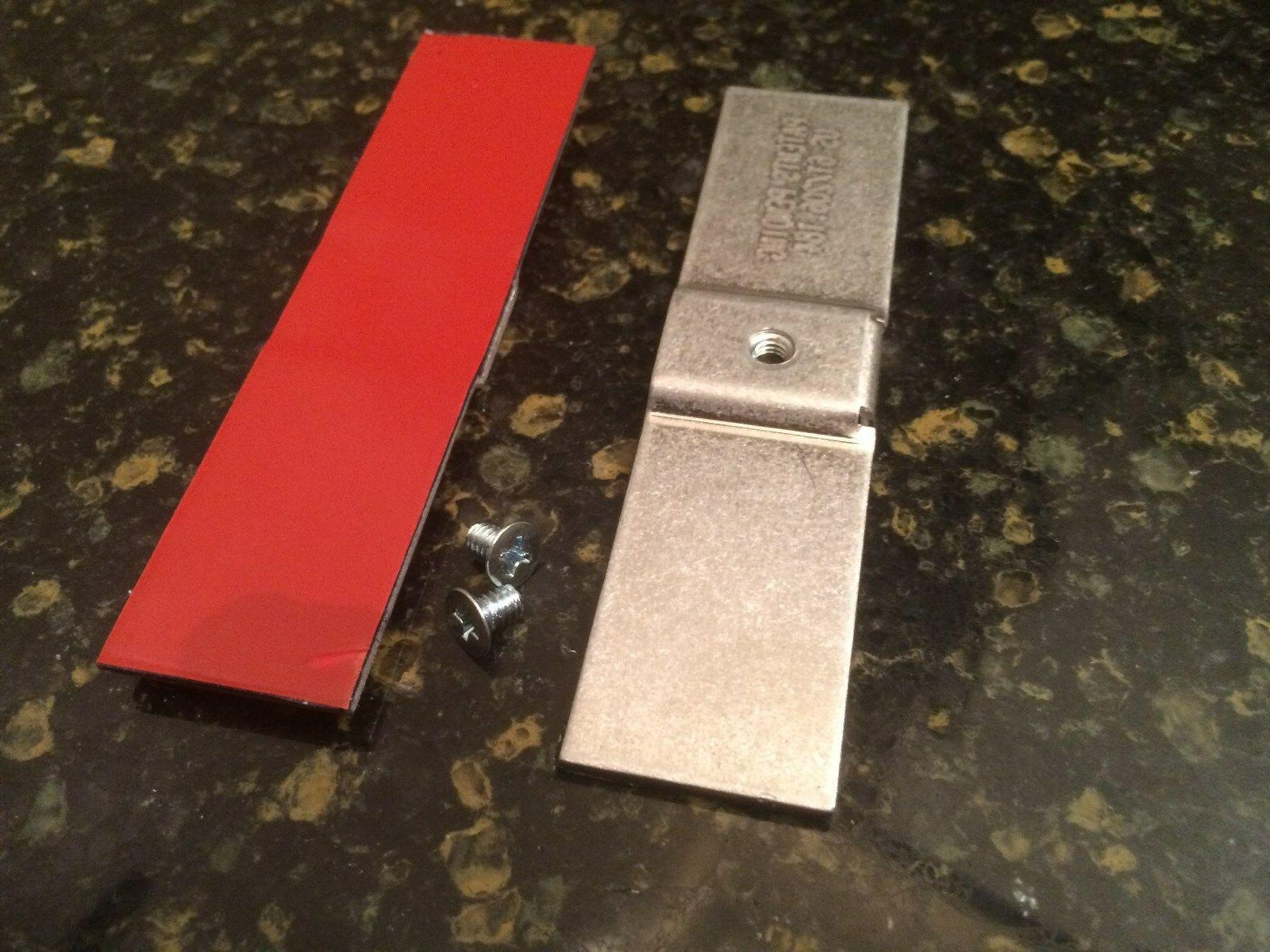 dishwasher mounting brackets kit for all counter