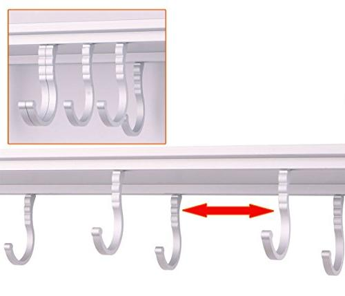 SPACECARE Double Microwave Oven Wall Mount Shelf With Removable