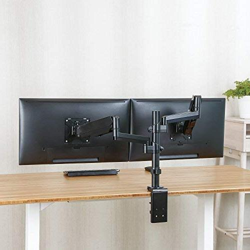 Dual Arm Stand, Full Motion Gas with for 17 to 32 Screens, Each up HDMI