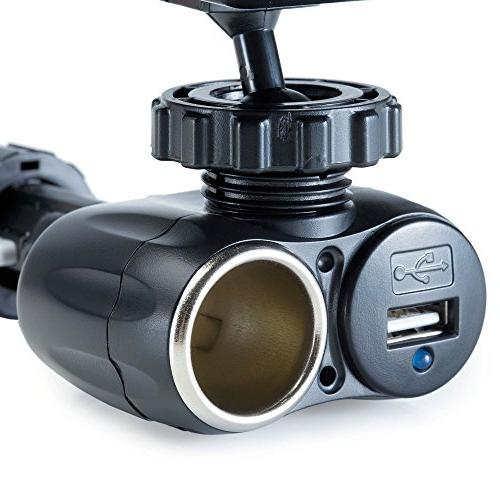 Dual Charger Mount and for 2555 LMT 12V USB