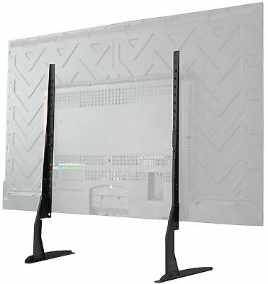 VIVO Universal LCD Flat Screen TV Table Top VESA Mount Stand