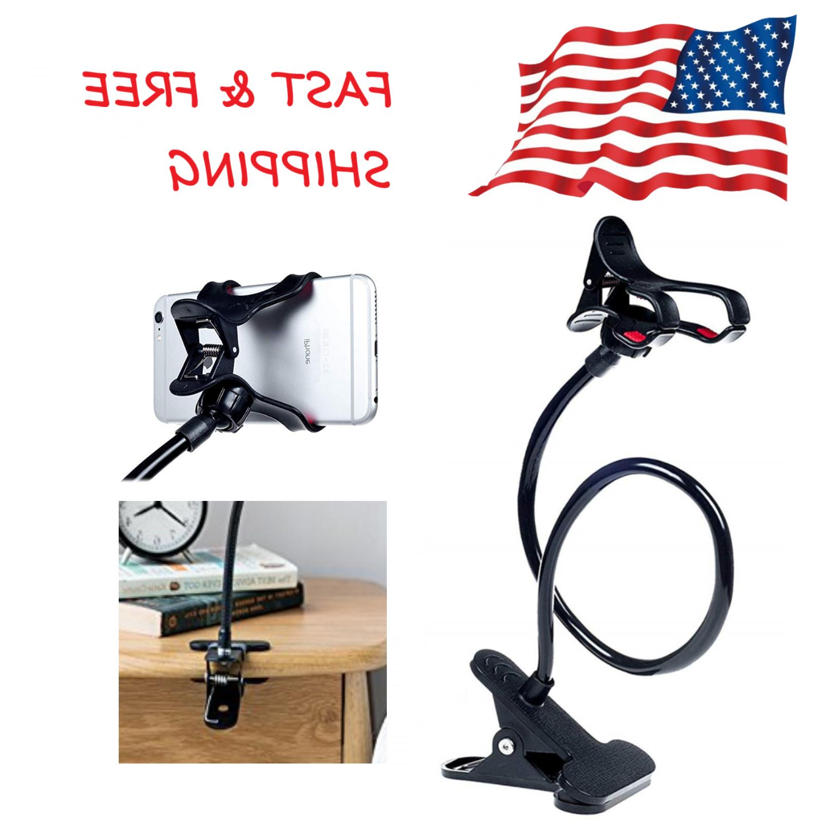 flexible lazy bracket cell phone stand mount