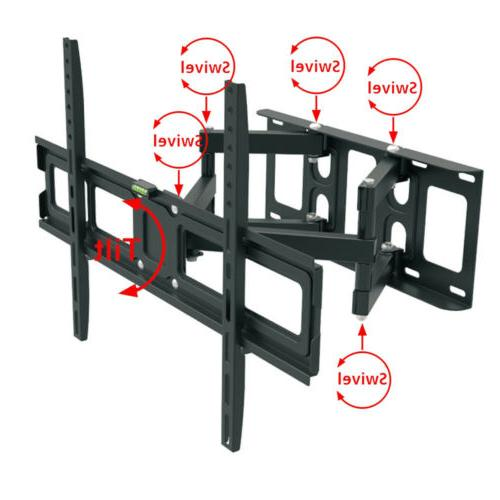 Full Motion HDTV Wall Mount Bracket 32 36 37 47 52 60