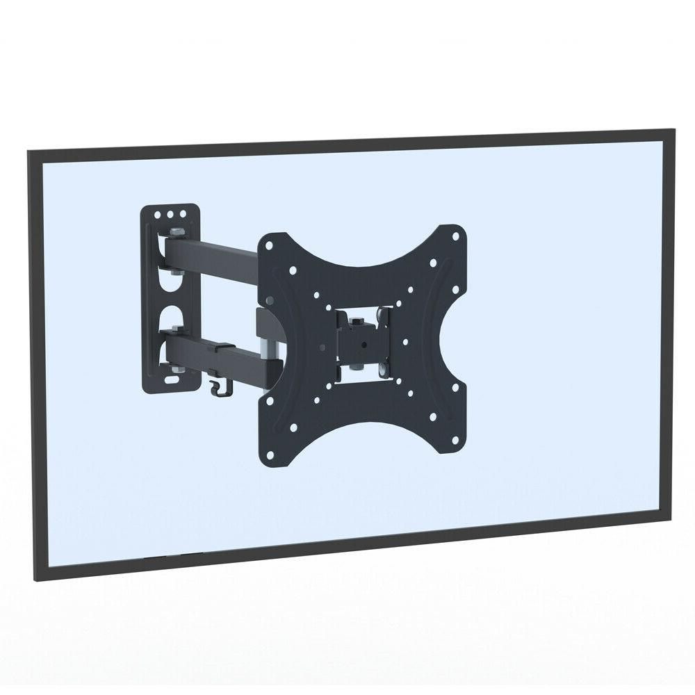 Full Tilt TV Wall Mount Swivel Bracket Bracket