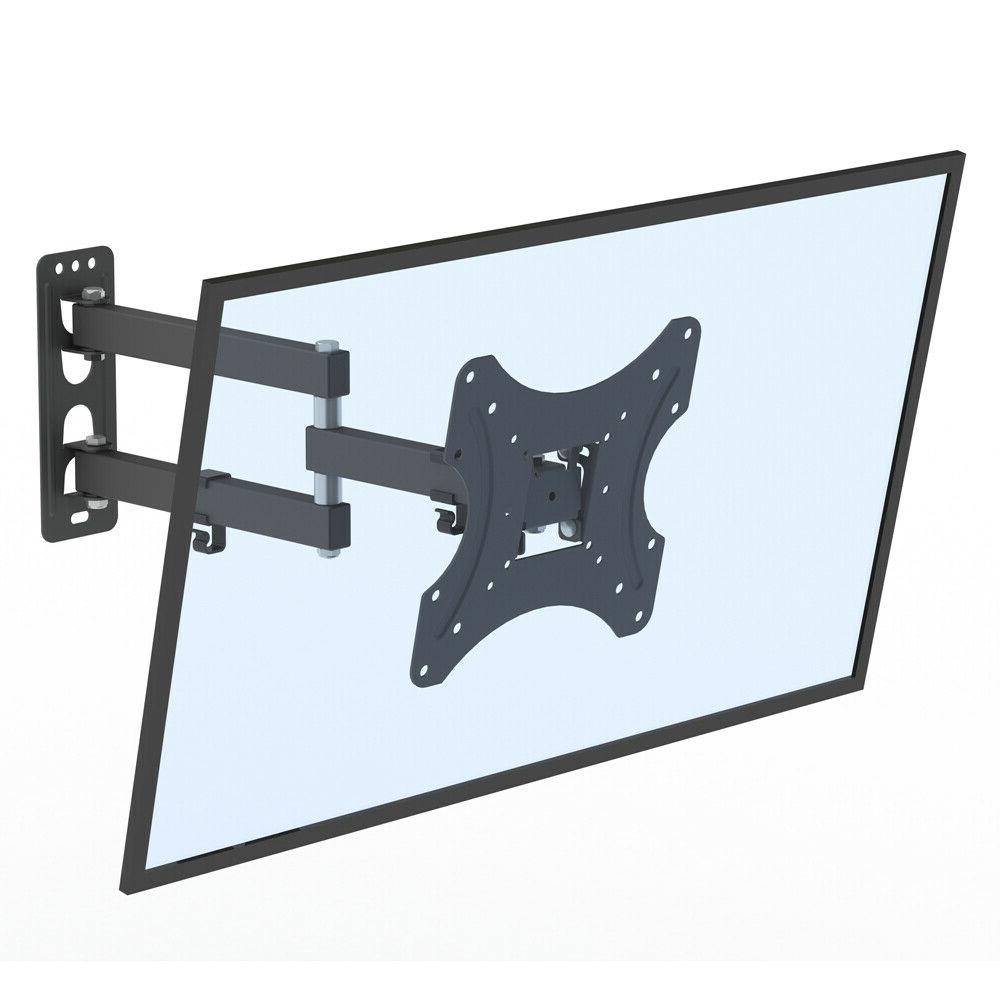 "Full Motion Tilt Wall LCD Swivel 26-55"" Bracket"