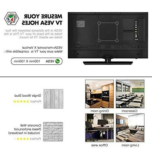 """Full Motion Mount 10"""" up to 32"""" inch LCD"""
