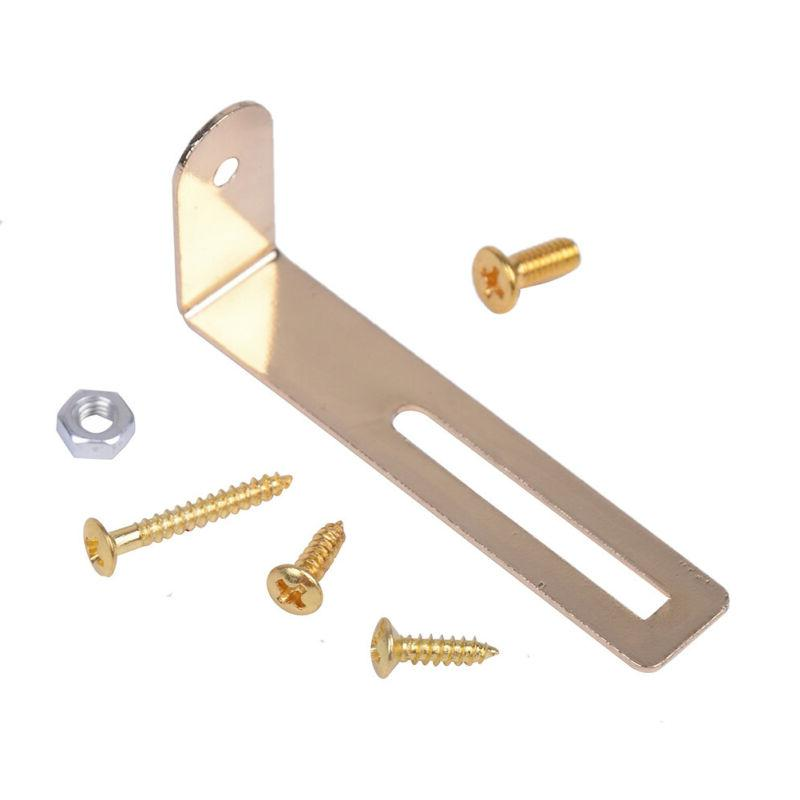 Guitar gold mounting L shape for