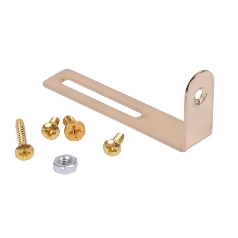 guitar accessories gold pickguard mounting bracket l