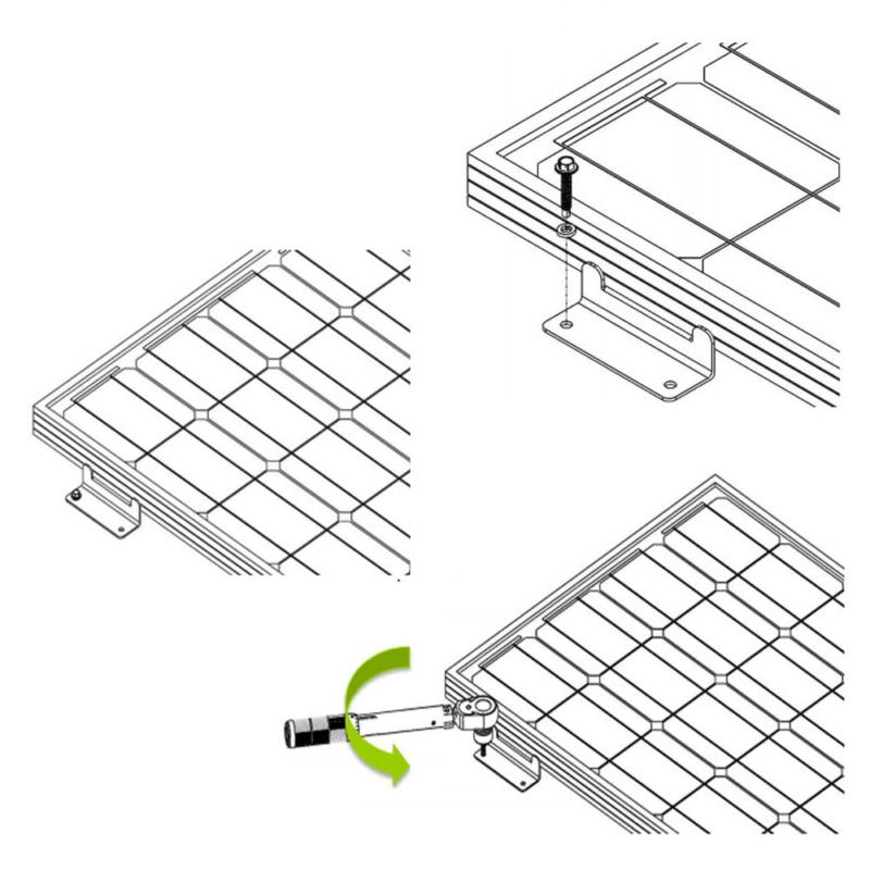 HQST Solar Panel and Bolts - Sets R