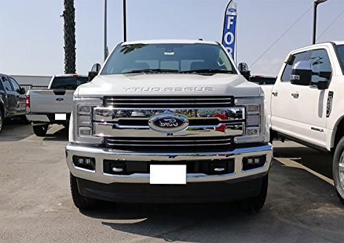 iJDMTOY LED Light For 2015-up Ford F150, 2017-up 20W Mounting Brackets & Harnesses
