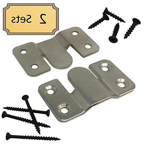 Interlocking Z Clips Flush Pictures, Head Boards, Wall Panels 2