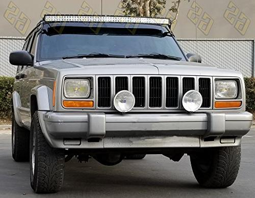 GS Power LED Mounting Brackets for XJ, Comanche MJ Mount Lights at Upper pillar