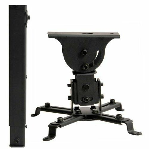 VideoSecu LCD DLP Projector Vaulted Ceiling Mount Bracket wi