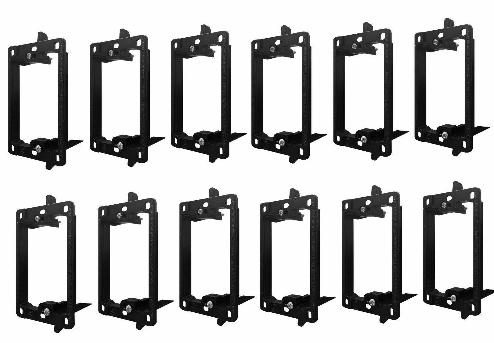 Single 1-gang Face Plate Mount Mud Voltage 10 Pack