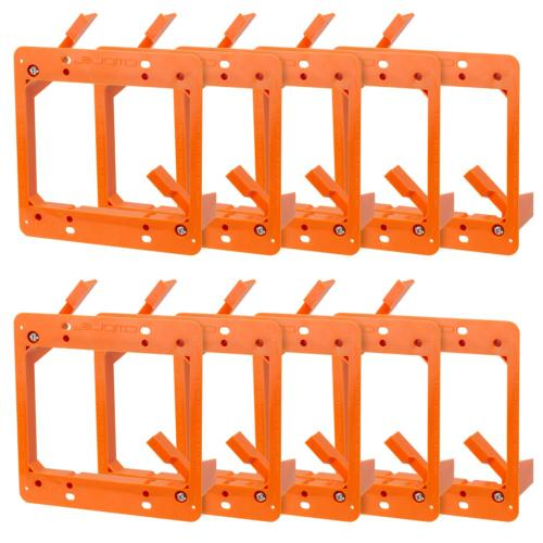 low voltage mounting bracket 2 gang multipurpose