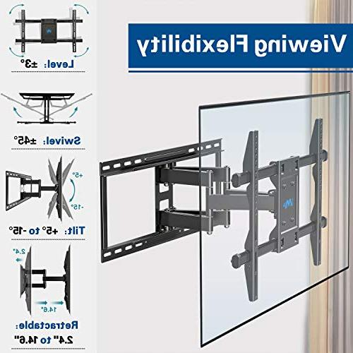 Mounting Dream TV for 42-70'' LED, OLED and Plasma Mount with up to VESA lbs. Fits 18'', 24'' Studs