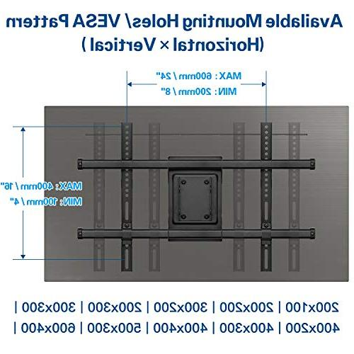 Mounting Dream Full TV Wall Bracket for 42-70'' LED, LCD, OLED Mount with Articulating up to 600 x 100 lbs. Fits 24''