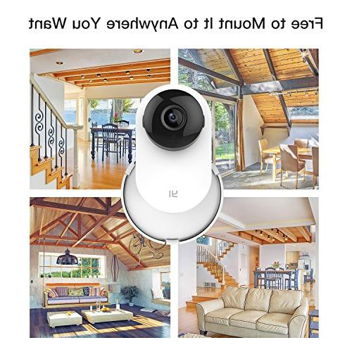 Camera Wall 360 Bracket Customized Indoor Yi/Mi Home Security Camera
