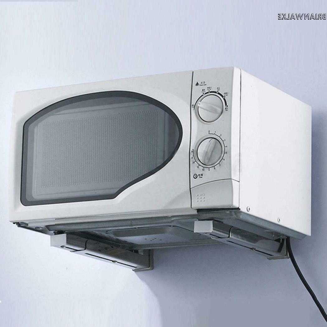 Microwave Oven Bracket Wall Stretch