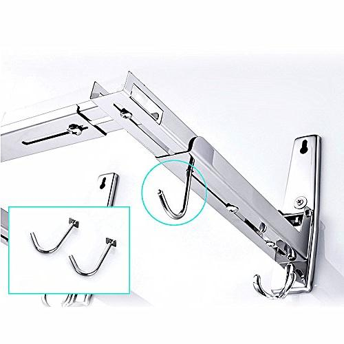 304 Stand Hook, Adjustable, Removable, Sturdy And Durable, Easy To Install, Load LB