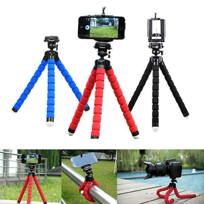 mini flexible octopus tripod bracket holder mount