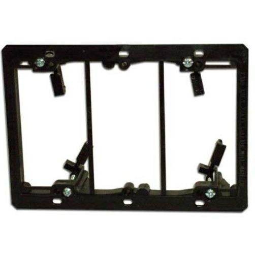 model lv3 triple gang low voltage mounting