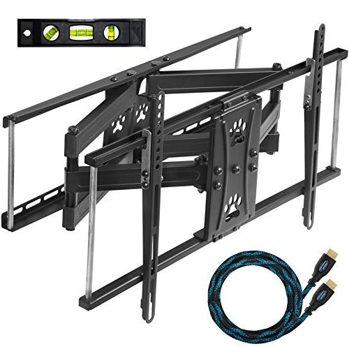 mounts dual articulating arm tv