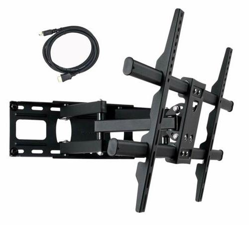 VideoSecu Full Articulating TV Wall Mount for Most LCD Plasma