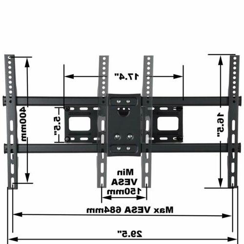 VideoSecu Motion Articulating TV Wall Mount for LED Plasma