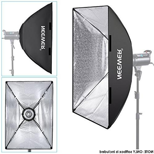 Neewer 24 x 36 centimeters Rectangular with Bowens Mount Bracket Holder Speedlite Studio and Photography