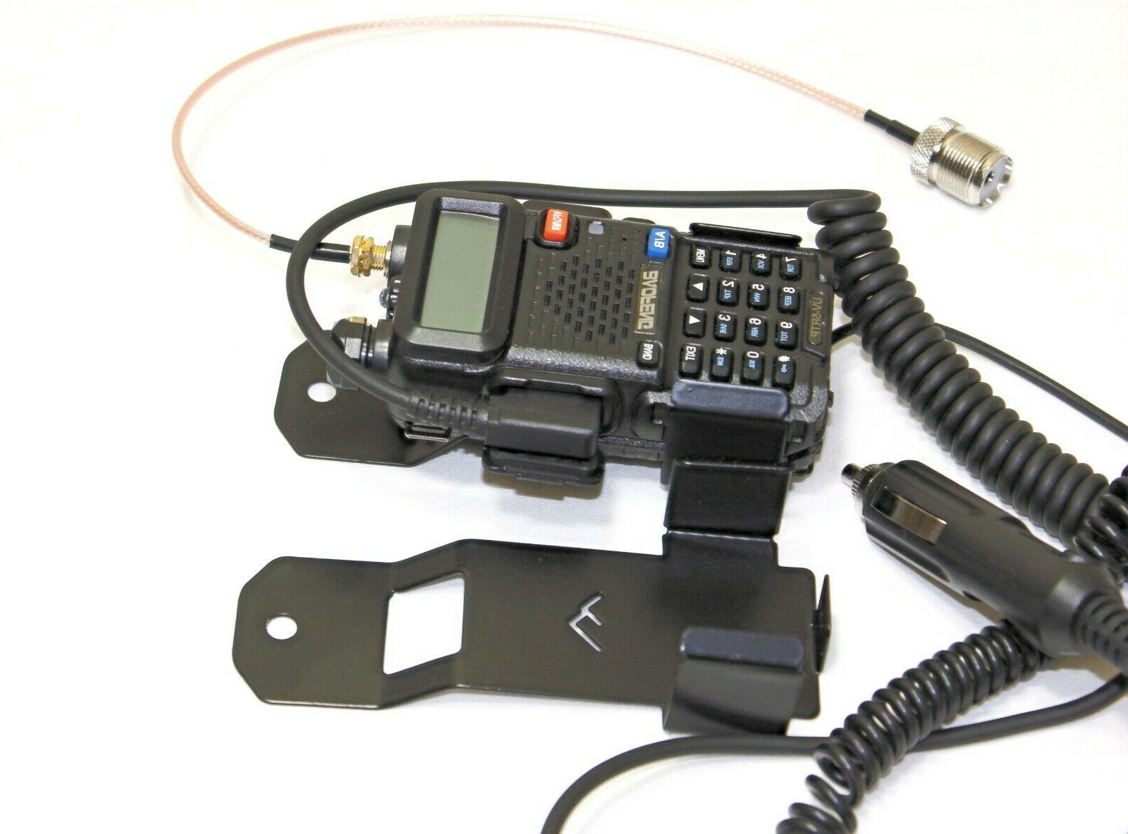 Baofeng bracket UV5XP and Rugged Radio