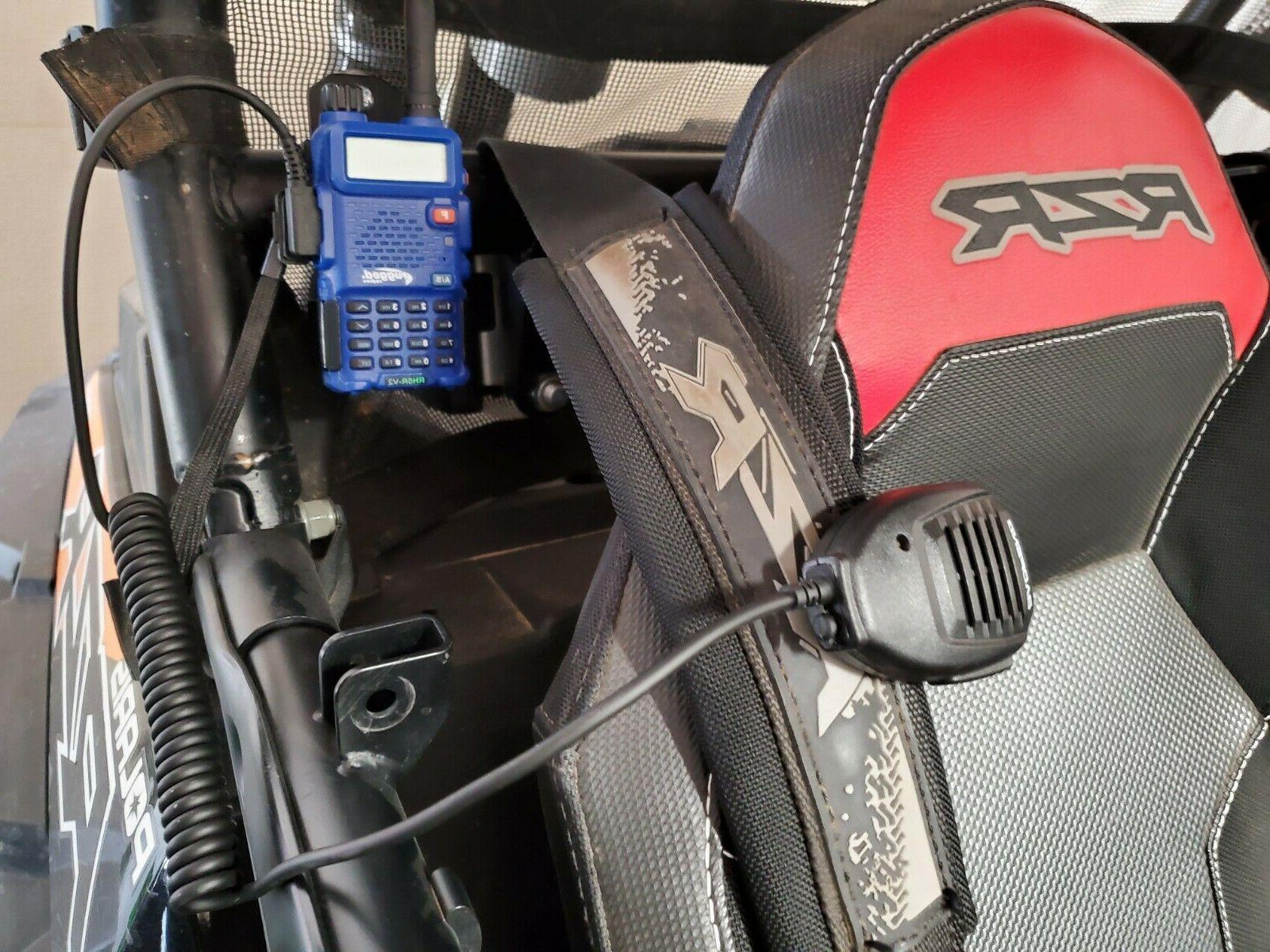 Baofeng radio mount bracket Jeep UV5XP and Radio