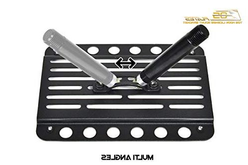 Extreme Store Replacement for Volkswagen GLI   EOS Version 1 Mid Bumper Hook Plate Relocator Bracket
