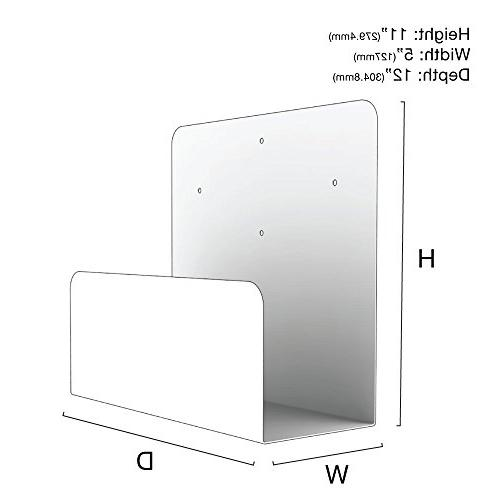 Oeveo Side - 11H x | Computer Wall Mount for Optiplex UPS Mount APC