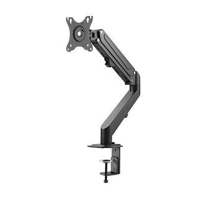 SINGLE ARM TV LCD MONITOR DESK MOUNT BRACKET ARTICULATING UP