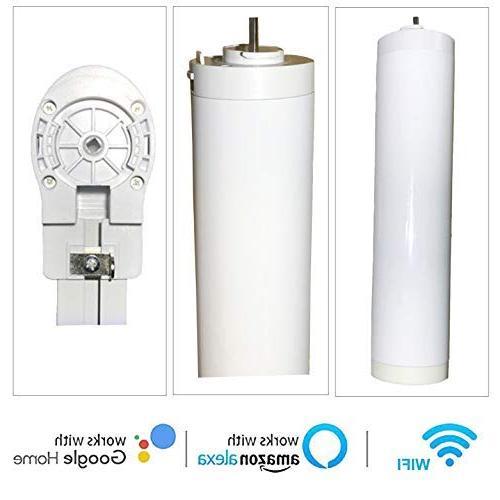 Ryosva SmartThings Smart WiFi Motor Integration Amazon and Control Curtain Pre-Assembly